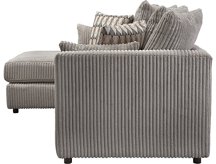 Swell Dove 2 Piece Left Arm Facing Chaise Sectional Gmtry Best Dining Table And Chair Ideas Images Gmtryco