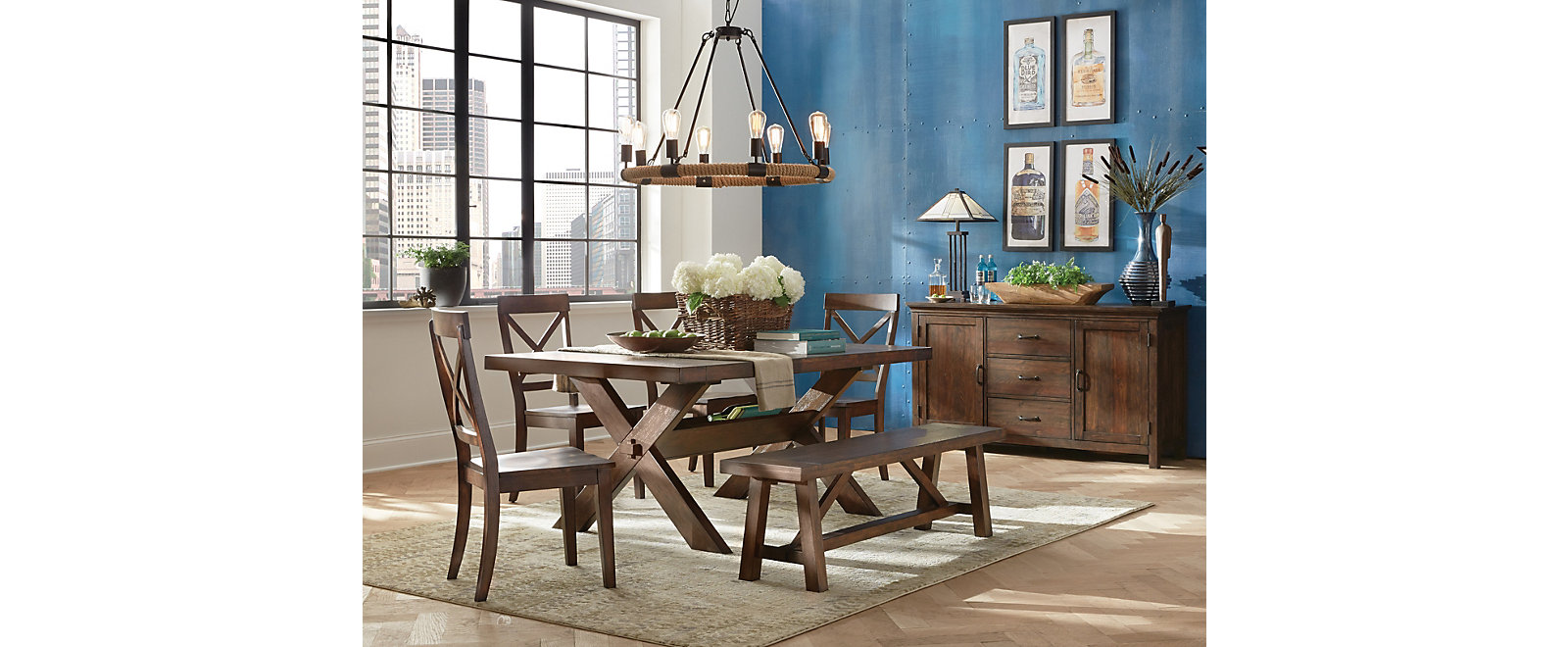 Claremont Trestle Dining, , large