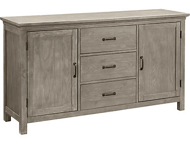 Claremont Dining Buffet, Grey, large