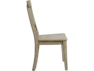Claremont Side Chair, Grey, large
