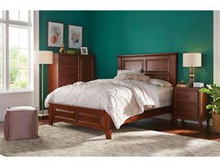 """Detroit Bedroom 58"""" King Panel Bed, , large"""