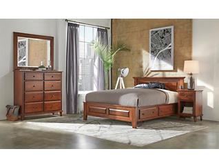 """Detroit Bedroom 43"""" King Side Storage Bed, , large"""