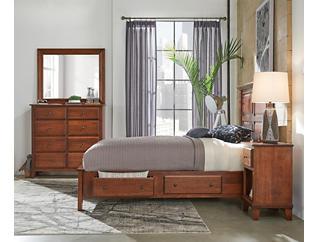 """Detroit Bedroom 58"""" King Side Storage Bed, , large"""