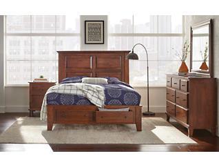 """Detroit Bedroom 58"""" Queen Footboard Storage Bed, , large"""