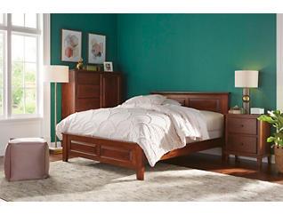 """Detroit Bedroom 43"""" Queen Panel Bed, , large"""