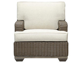 Brookstone Lounge Chair, Taupe, , large