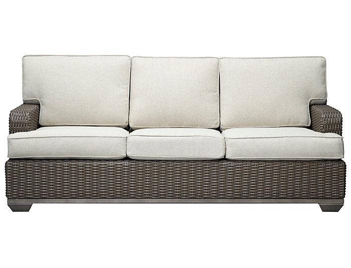sc 1 st  Art Van & Brookstone Sofa Taupe