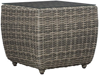 Brunswick End Table, Brown, , large
