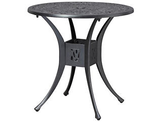 "Catalina 30"" Bistro Table, Black, , large"