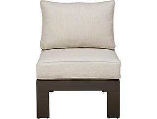 Chelsea Black Armless Chair, , large