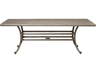 Claremont Rectangular Table, Grey, , large