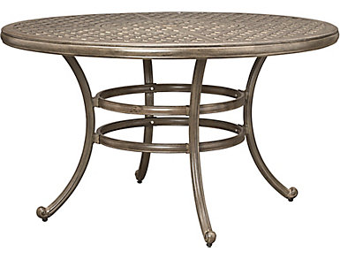 Claremont Grey Round Table, , large
