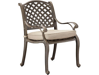 Claremont Dining Chair, Metal, , large