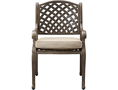 Claremont Grey Dining Chair, , large