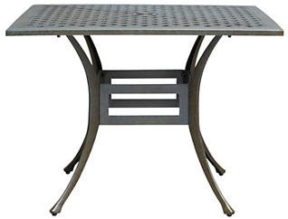 "Durango 40"" Square Table, , large"