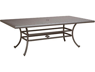 Jamestown II 86 x 46 Graphite Table, , large
