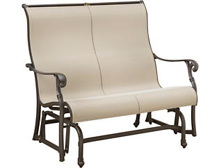 Jamestown II Graphite Double Glider, , large