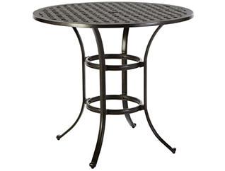 "Jamestown 42"" Round GH Table, Black, , large"