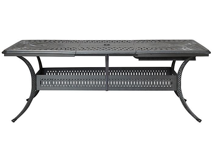 Montreal Extension Table Black Large