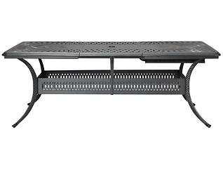 Montreal Extension Table, Black, , large