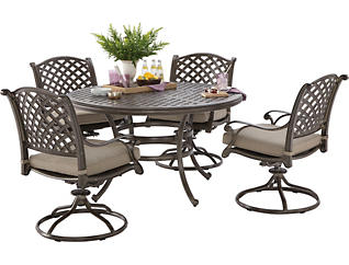Claremont 5PC Dining Set, , large