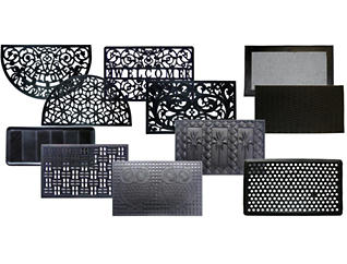 Rubber Doormat Collection, , large