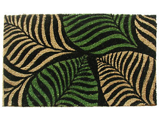 Palm Leaves 18x30 Doormat, , large
