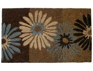 Daisies 18x30 Doormat, , large