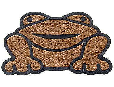 Frog Shaped 18x30 Doormat, , large