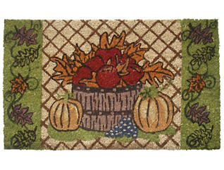 Harvest Leaves 18x30 Doormat, , large