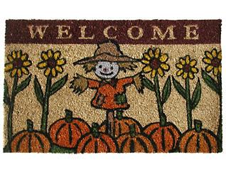 Scarecrow 18x30 Doormat, , large