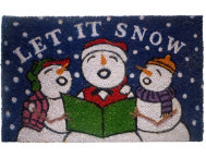 shop Snowmen 18x30 Doormat