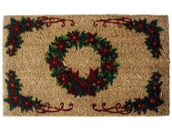 shop Wreath 18x30 Doormat