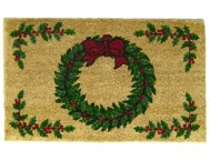 shop Berry Wreath 18x30 Doormat