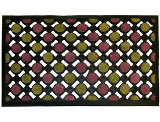 Coco Dots 18x30 Doormat, , large