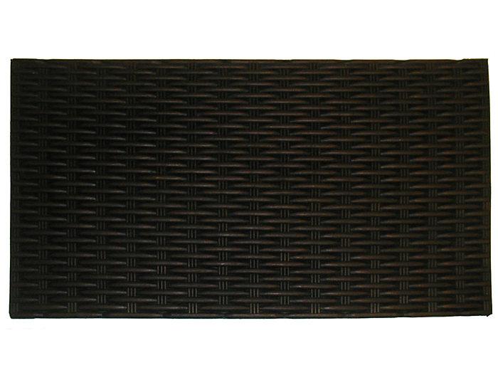 Bronze 18x30 Rubber Doormat, , large