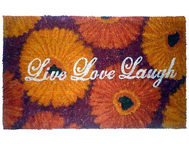 Live Love Laugh 18x30 Doormat, , large