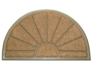 Sunburst Beige 24x39 Doormat, , large