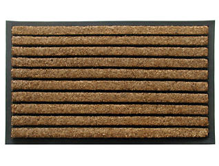 Natural Ribbed 18x30 Doormat, , large