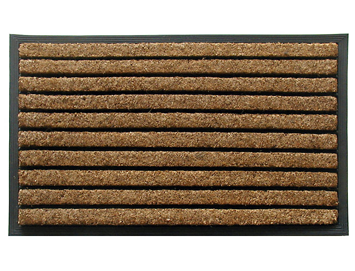 Natural Ribbed 24x39 Doormat, , large