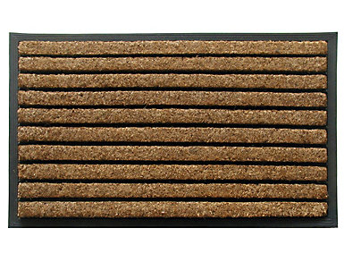 Natural Ribbed 24x39 Doormat, , large