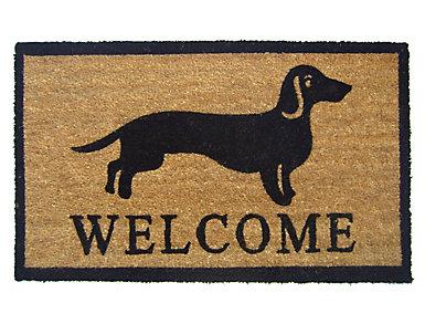 Dog Welcome 18x30 Doormat, , large