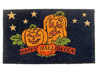 Halloween 18x30 Doormat, , large