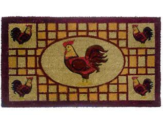 Rooster II 18x30 Doormat, , large