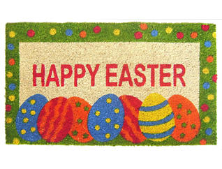 Easter Egg 18x30 Doormat, , large