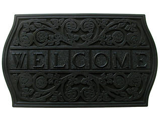 Tile 18x30 Rubber Doormat, , large