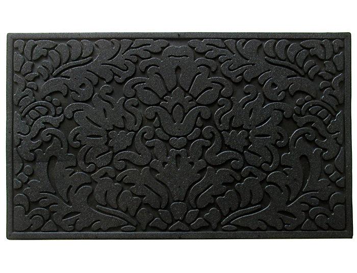 Rubber Scroll 18x30 Doormat, , large