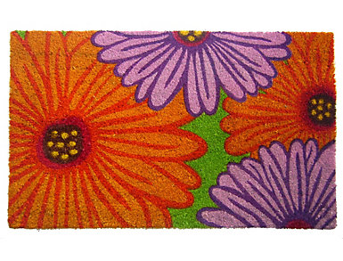 Zinnia 18x30 Doormat, , large