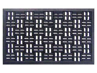 Weave 18x30 Rubber Doormat, , large