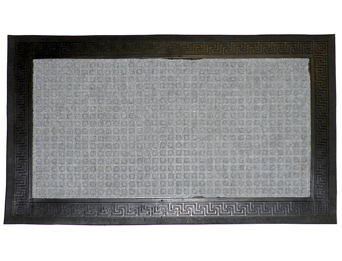 Greek 18x30 Rubber Doormat, , large